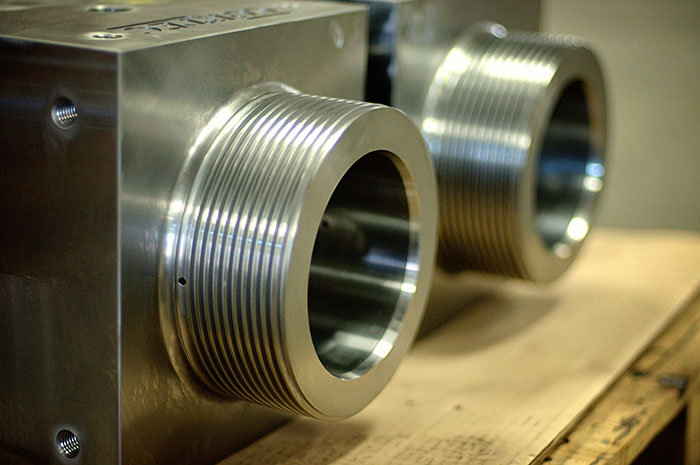 Ballco produces choke bonnets of all different pressure classes, materials, and sizes vary from 1