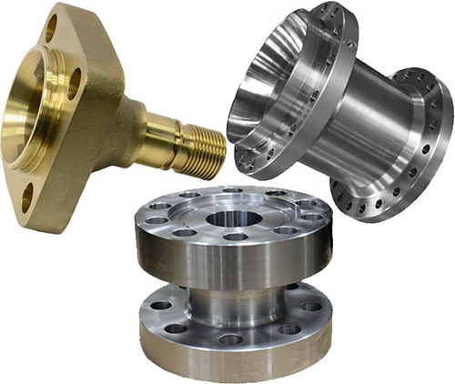 Ballco specializes in manufacturing Valve End Connects in all materials varying in size from a 3